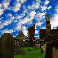 Buy canvas prints of Lindisfarne by Ian Jeffrey