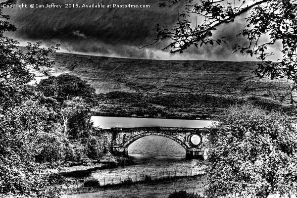 Inveraray Bridge Canvas Print by Ian Jeffrey
