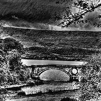 Buy canvas prints of Inveraray Bridge by Ian Jeffrey