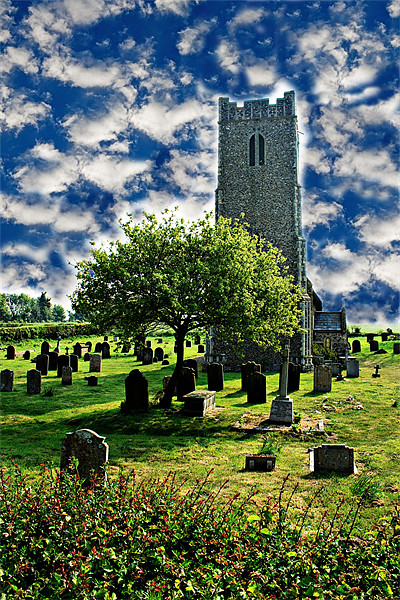 Church of St. Lawrence Canvas print by Ian Jeffrey