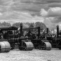 Buy canvas prints of Steam Rollers by Ian Jeffrey