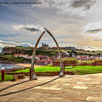 Buy canvas prints of Whitby Abbey by Ian Jeffrey