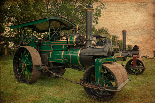Old Timers Canvas print by Ian Jeffrey