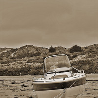 Buy canvas prints of Water Ski Boat by Dawn Cox