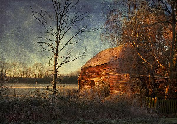 Old Barn Canvas print by Dawn Cox