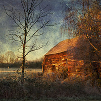 Buy canvas prints of Old Barn by Dawn Cox