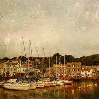 Buy canvas prints of Padstow Harbour by Dawn Cox