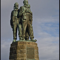 Buy canvas prints of The Commando Memorial by Jessica Patten