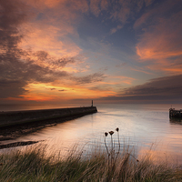 Buy canvas prints of Aberystwyth harbour mouth by Izzy Standbridge