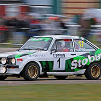 Buy canvas prints of Escort Rally Car by Phil Hall