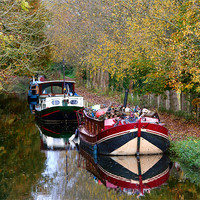Buy canvas prints of Kennet and Avon canal by Tony Bates