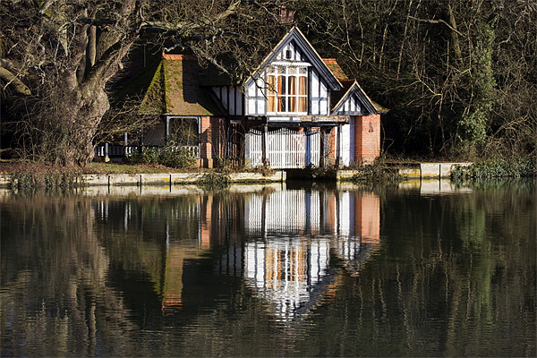 Boat House Canvas print by Tony Bates