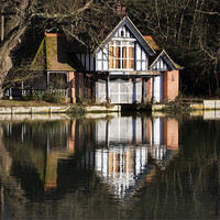 Buy canvas prints of Boat House by Tony Bates