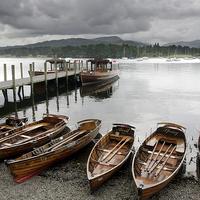 Buy canvas prints of Lake Windermere Ambleside by Tony Bates