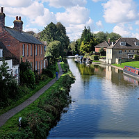 Buy canvas prints of Hungerford and Kennet by Tony Bates
