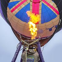 Buy canvas prints of Hot air balloon by Tony Bates