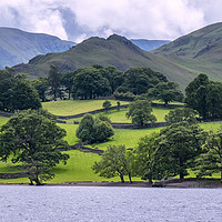 Buy canvas prints of Ullswater lake district Cumbria by Tony Bates