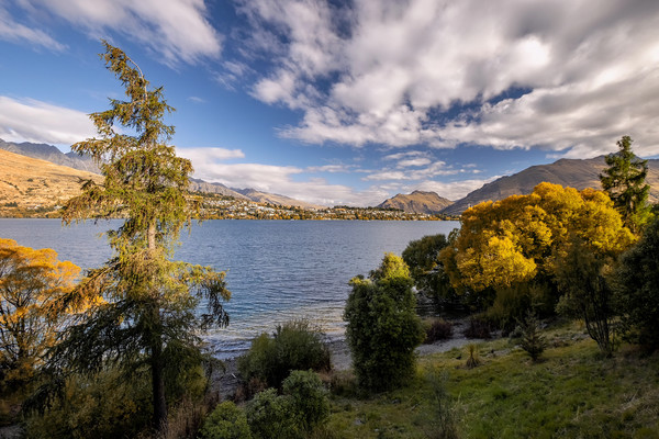 Queenstown Canvas print by Tony Bates
