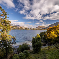 Buy canvas prints of Queenstown by Tony Bates