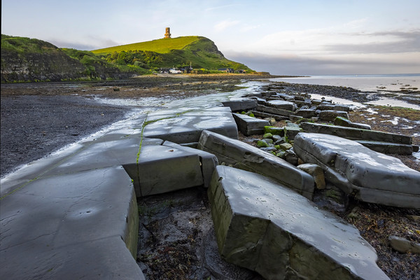 Kimmeridge bay Dorset Canvas print by Tony Bates