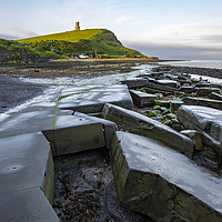 Buy canvas prints of Kimmeridge bay Dorset by Tony Bates
