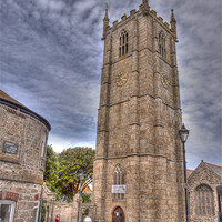 Buy canvas prints of St. Ives Parish Church by Allan Briggs