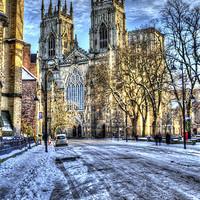Buy canvas prints of York Minster by Allan Briggs
