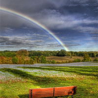 Buy canvas prints of Rainbow View by Chris Thaxter