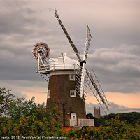Buy canvas prints of Cley Windmill by Chris Thaxter