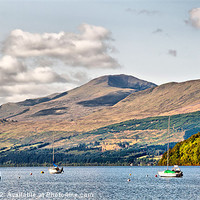 Buy canvas prints of Loch Tay from Kenmore 2 by Chris Thaxter