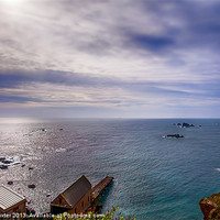 Buy canvas prints of Lizard Point Cornwall by Chris Thaxter
