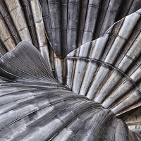 Buy canvas prints of Aldeburgh Shell Abstract by Bel Menpes