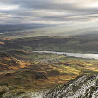 Buy canvas prints of Coniston Light by James Grant