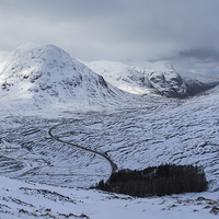 Buy canvas prints of Glencoe by James Grant