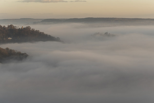 Matlock Mists Canvas print by James Grant