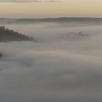 Buy canvas prints of Matlock Mists by James Grant