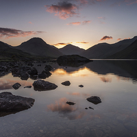 Buy canvas prints of Wast Water Dawn by James Grant