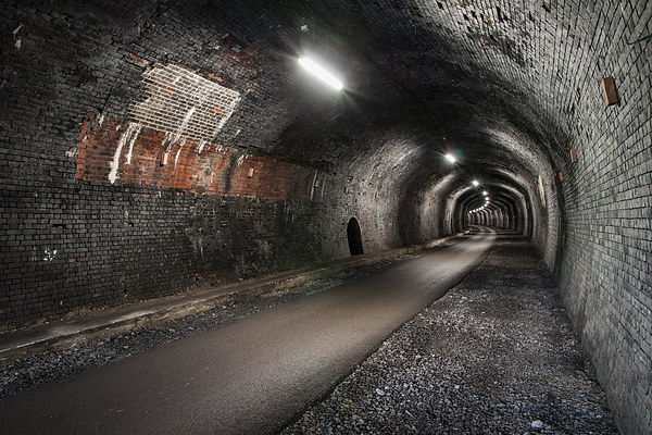 Cressbrook Tunnel Canvas print by James Grant