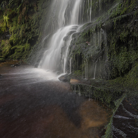 Buy canvas prints of  Middle Black Clough by James Grant