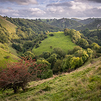 Buy canvas prints of Ecton Hill to Thor's Cave - by James Grant