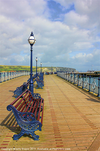Swanage Pier Canvas print by kelly Draper