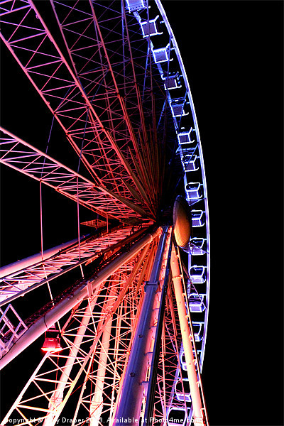 Brightons Wheel Canvas print by kelly Draper