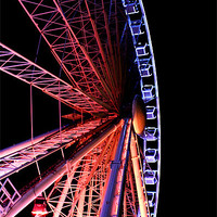 Buy canvas prints of Brightons Wheel by kelly Draper