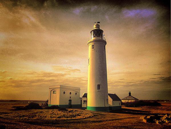 Hurst Point Lighthouse Canvas print by kelly Draper