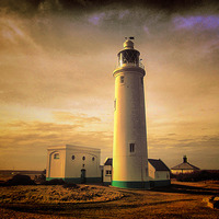 Buy canvas prints of Hurst Point Lighthouse by kelly Draper