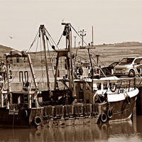 Buy canvas prints of Fishing Boat by kelly Draper