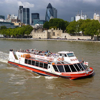 Buy canvas prints of Thames Trippers by Phil English