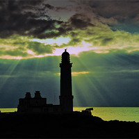 Buy canvas prints of Corswell lighthouse by Stuart Jack