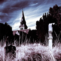 Buy canvas prints of The Churchyard by Stuart Jack