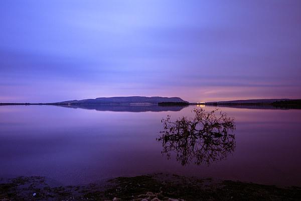 Dawn at Loch Leven Canvas print by Stuart Jack